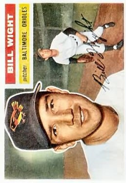 1956 Topps #286 Bill Wight