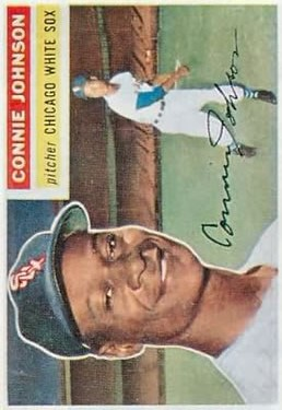 1956 Topps #326 Connie Johnson RC