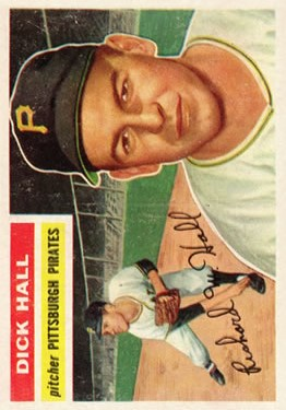 1956 Topps #331 Dick Hall