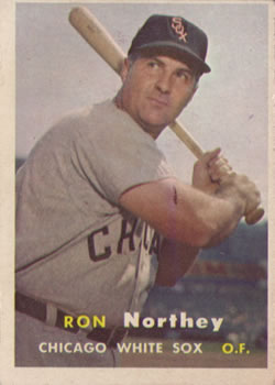 1957 Topps #31 Ron Northey front image