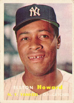 1957 Topps #82 Elston Howard