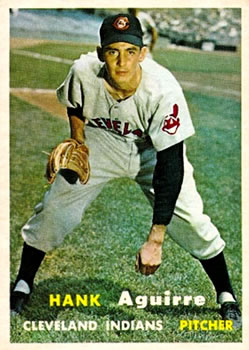 1957 Topps #96 Hank Aguirre RC