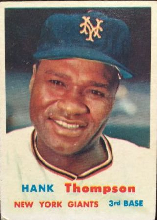 1957 Topps #109 Hank Thompson