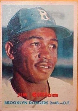 1957 Topps #115 Jim Gilliam