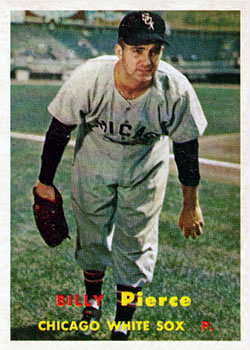 1957 Topps #160 Billy Pierce
