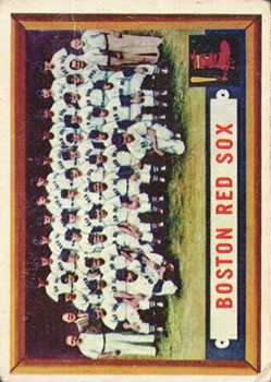 1957 Topps #171 Boston Red Sox TC