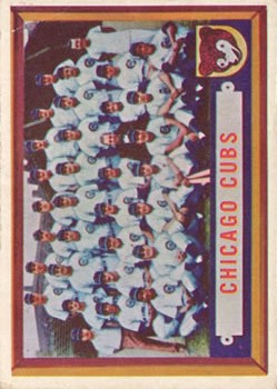1957 Topps #183 Chicago Cubs TC