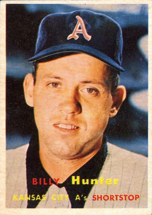 1957 Topps #207 Gordon (Billy) Hunter