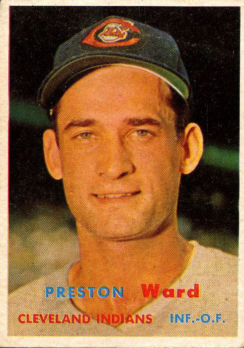 1957 Topps #226 Preston Ward
