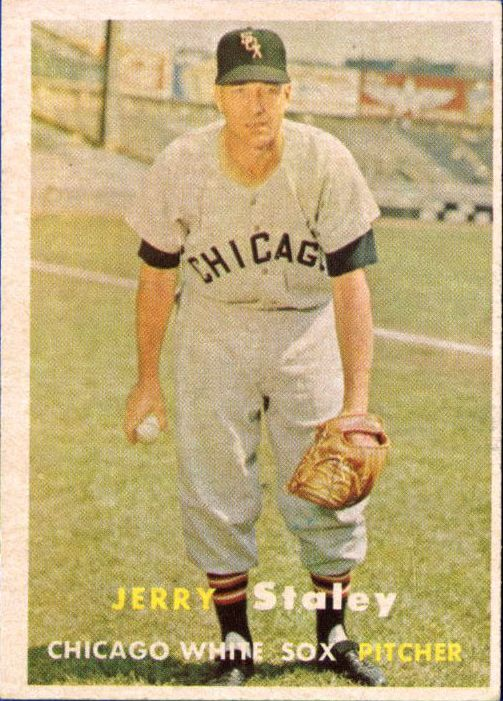 1957 Topps #227 Gerry Staley