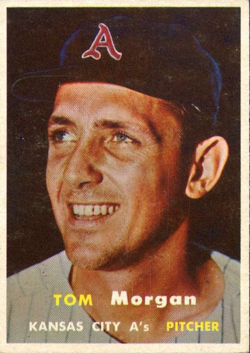 1957 Topps #239 Tom Morgan