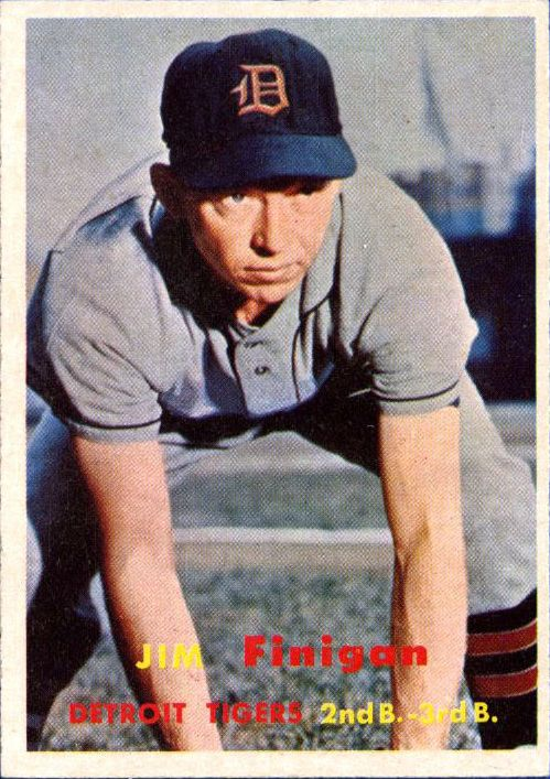 1957 Topps #248 Jim Finigan