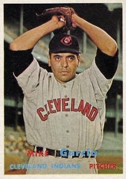 1957 Topps #300 Mike Garcia