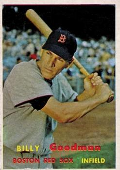 1957 Topps #303 Billy Goodman