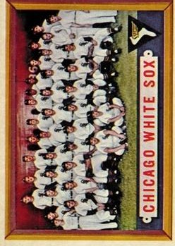 1957 Topps #329 Chicago White Sox TC