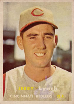 1957 Topps #358 Jerry Lynch