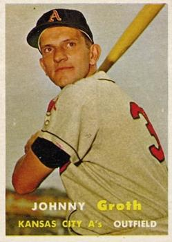 1957 Topps #360 Johnny Groth