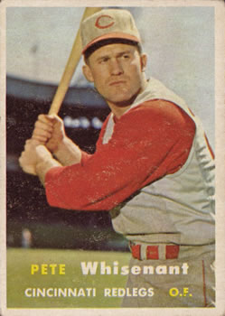 1957 Topps #373 Pete Whisenant RC