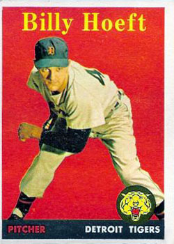 1958 Topps #13A Billy Hoeft