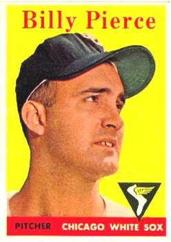 1958 Topps #50A Billy Pierce