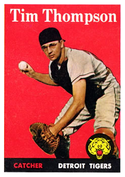 1958 Topps #57A Tim Thompson