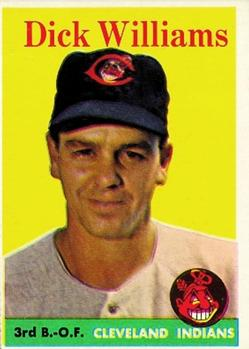 1958 Topps #79A Dick Williams front image