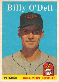 1958 Topps #84 Billy O'Dell