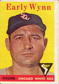1958 Topps #100A Early Wynn