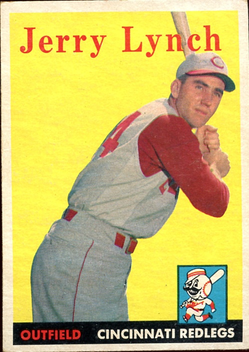 1958 Topps #103 Jerry Lynch