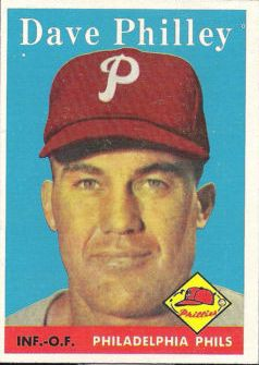 1958 Topps #116 Dave Philley