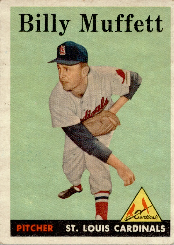 1958 Topps #143 Billy Muffett RC