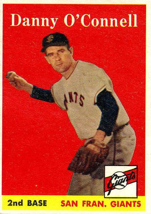 1958 Topps #166 Danny O'Connell