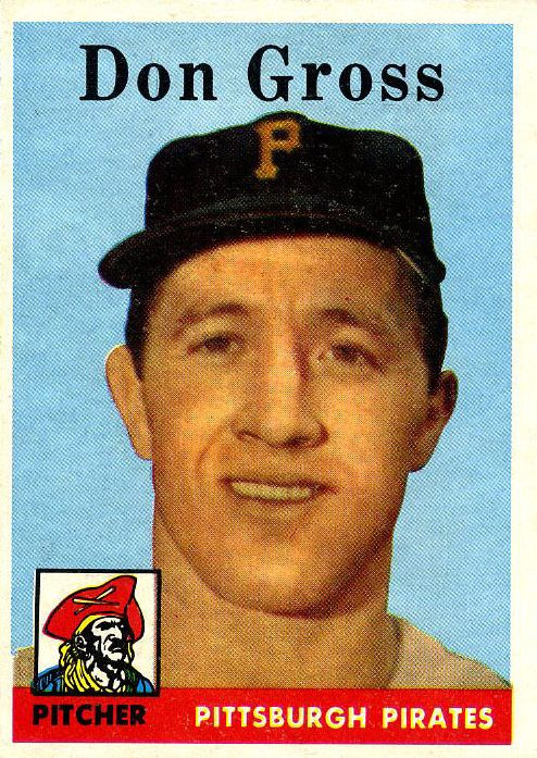 1958 Topps #172 Don Gross