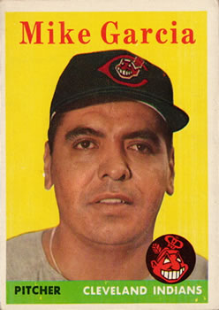 1958 Topps #196 Mike Garcia