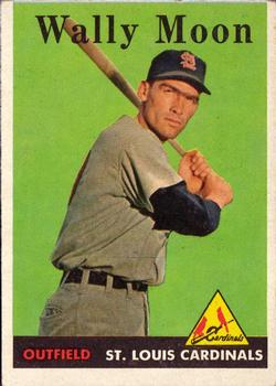1958 Topps #210 Wally Moon
