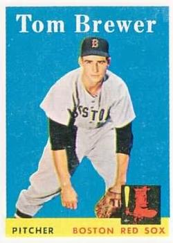 1958 Topps #220 Tom Brewer