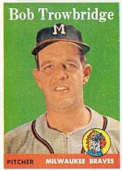 1958 Topps #252 Bob Trowbridge RC