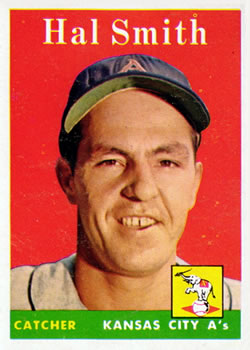 1958 Topps #257 Hal Smith