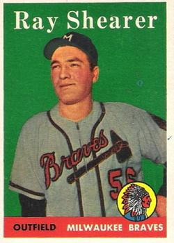 1958 Topps #283 Ray Shearer RC