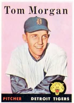 1958 Topps #365 Tom Morgan