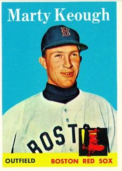 1958 Topps #371 Marty Keough RC
