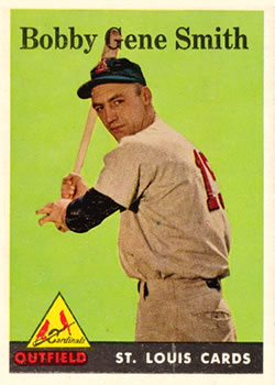 1958 Topps #402 Bobby Gene Smith