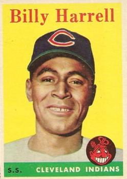 1958 Topps #443 Billy Harrell SP RC