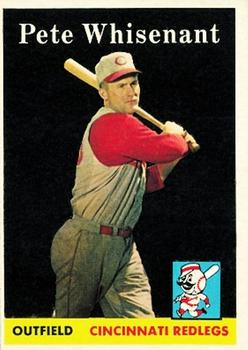 1958 Topps #466 Pete Whisenant