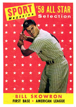 1958 Topps #477 Bill Skowron AS