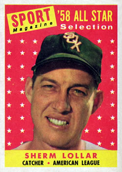 1958 Topps #491 Sherm Lollar AS