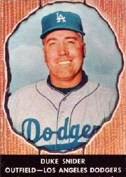 1958 Hires Root Beer #61 Duke Snider