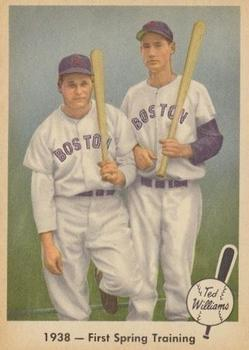 1959 Fleer Ted Williams #11 T.Williams/J.Foxx