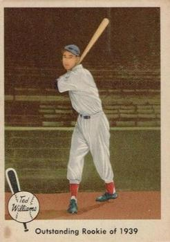 1959 Fleer Ted Williams #14 Outstanding Rookie '39