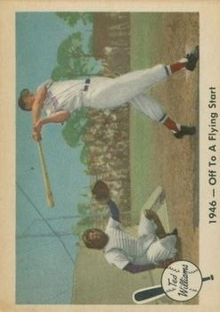 1959 Fleer Ted Williams #26 Off to Flying Start